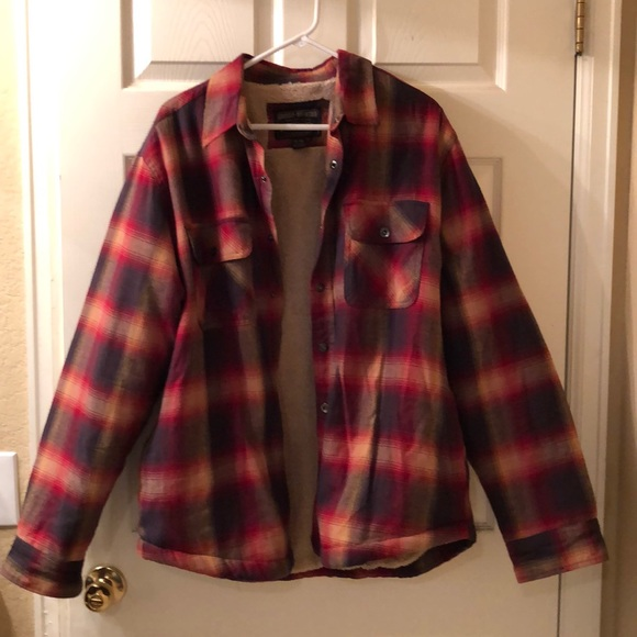 Grizzly Mountain Other - Men's Grizzly Mountain Plaid Winter Shirt